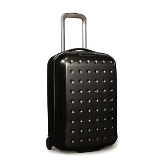 新秀丽Samsonite Pixelcube 20寸圆点万向轮拉杆行李箱 登机箱黑 $177.45