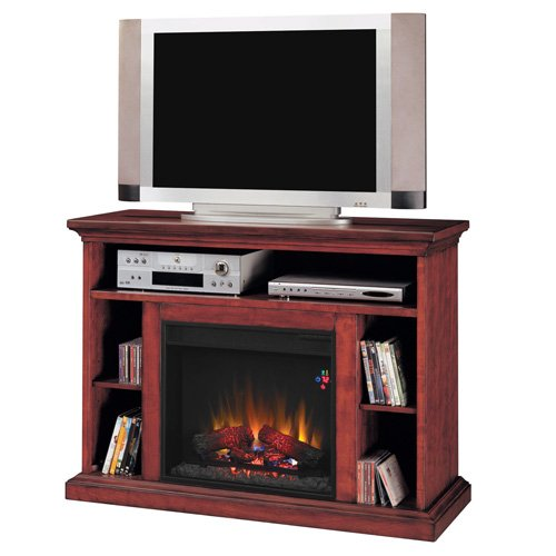 "23"" Beverly Media Fireplace, Premium Cherry"