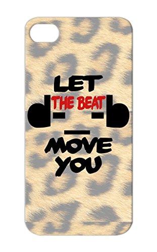 Tpu Let The Beat Move You Dj Hip Hop Rock Metal Rock Headphones Music Dub Step Island Boy Rampampb Jersey Dance Music Love Dance Tearproof Red Case For Iphone 5/5S