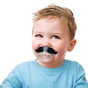 FRED_Baby Bigote Chupete [FIER] marca ChannelExpert - BebeHogar.com