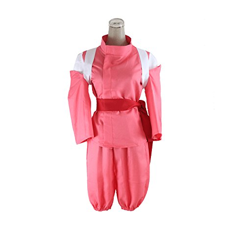 Tikii Fashion Cartoon Cosplay Clothing Kids Costume Spirited Away - Pink-Size:L