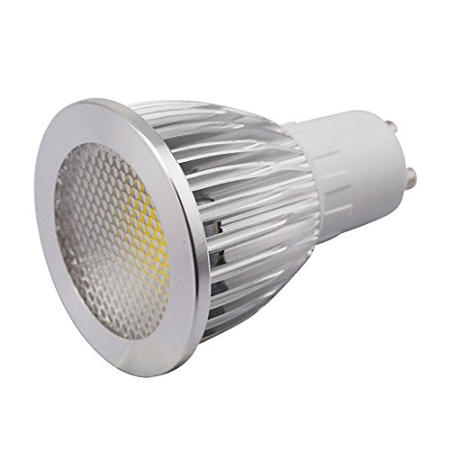 Grexistar 5W Gu10 Ac 85V~265V / 50 / 60Hz Cob Led Spot Light Bead Surface Lens Cool White
