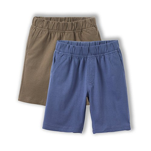 Les Petits Prix Bambino Confezione Da 2 Shorts Da 3 A 12 Anni Taglia 102 Blu