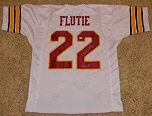 Signed Doug Flutie Jersey - Bc #22 White - JSA Certified - Autographed College... by Sports+Memorabilia