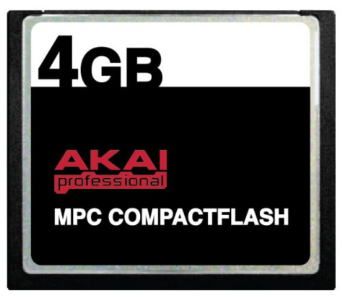 Purchase 4GB Akai MPC CompactFlash CF Memory Card for MPC500, MPC1000, MPC2500 and MPC5000