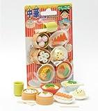 IWAKO Japanese Eraser / CHINESE FOOD ERASER SET ON CARD