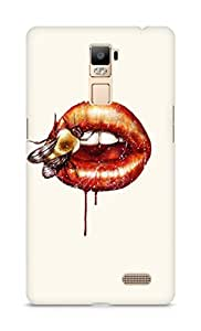Amez designer printed 3d premium high quality back case cover for Oppo R7 Plus (Kiss me ago)