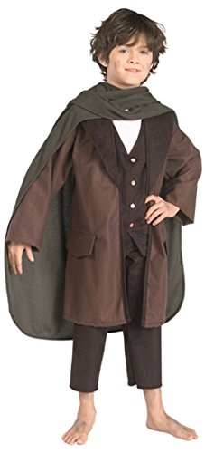 CHILD Small (Size 4-6, 3-4 Yrs) Frodo Costume