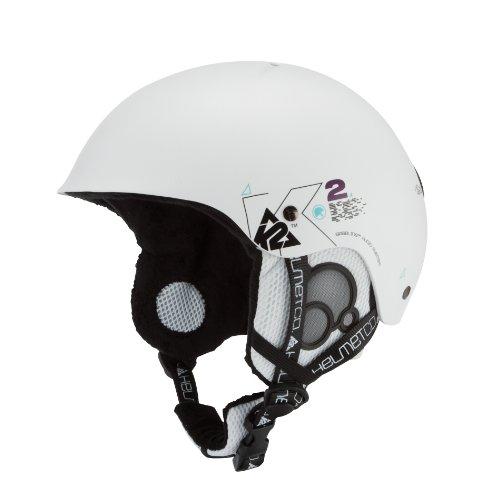 K2 Herren Skihelm Clutch Pro, White Metallic, S, 1003004.1.3.S