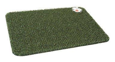 Grassworx 10366285 Clean Machine Scraper Door Mat, 17-1/2