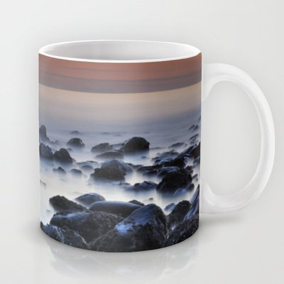 Society6 - Floating Stones Coffee Mug By Guido Montaã±Ã©S