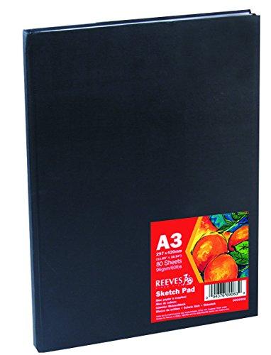 reeves-cuaderno-de-esbozo-de-tapa-dura-a3