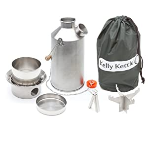 Kelly Kettle USA - Volcano Kettle - Ultra Fast Boiling Kettle