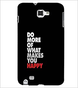 PrintDhaba Quote D-1179 Back Case Cover for SAMSUNG GALAXY NOTE 1 (Multi-Coloured)