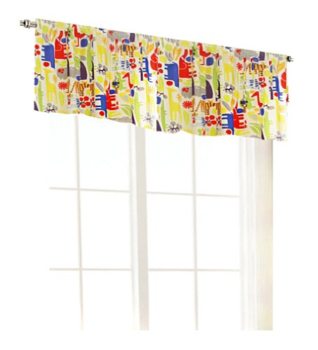 Room Magic Window Valance, Zoo 4 U