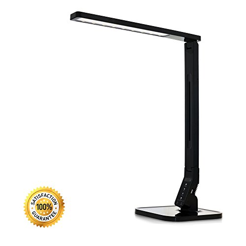 "Normande Lighting 15/"" Touch Switch w 3 Level Dimming Modern LED Desk Lamp USB"
