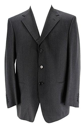 guy-laroche-mens-three-button-suit-size-39-us-49-eu-regular-pinstripe-black