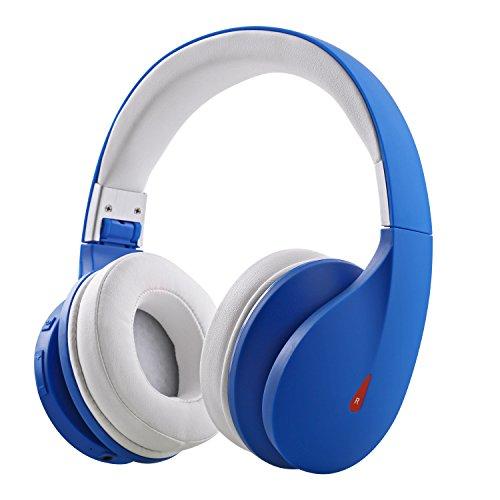 Mixcder Drip,ワイヤレス Bluetooth ヘッドフォン 密閉型 折りたたみ マイク付き ステレオ音質 【メーカー1年保証】(ブルー)