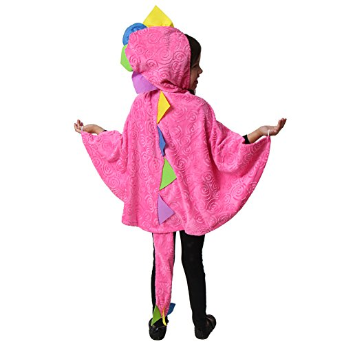 Hot Pink Dragon Cloak with Tail