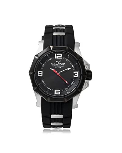 Aquaswiss Men's 81G012 Vessel G Black Silicone Watch