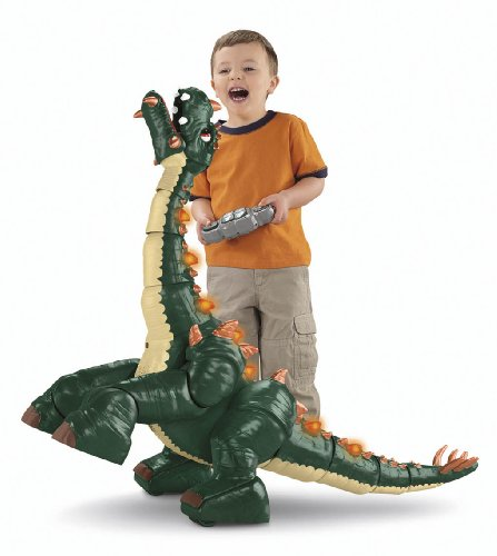 Fisher-price Imaginext Spike the Ultra Dinosaur Japan