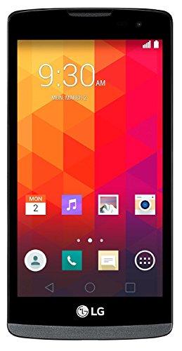 LG Leon H326g Y50 DUAL-SIM TITANIUM BLACK Factory Unlocked 3G Android Touchscreen Smartphone