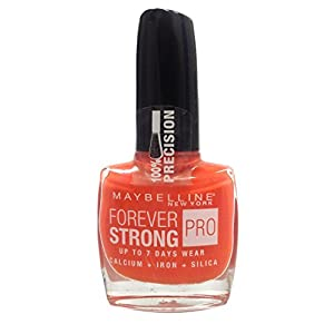 Maybelline Forever Strong Nail Polish 10ml-460 Couture Orange