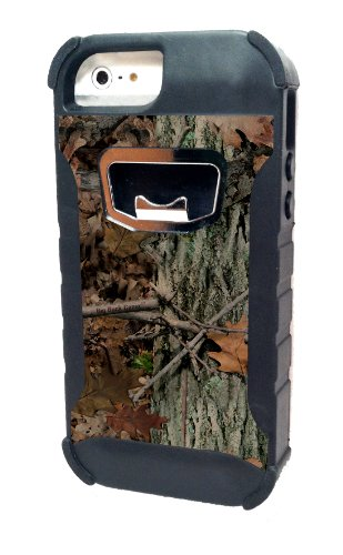 HeadCase Rugged Bottle Opener iPhone 5/5S/5C Case - Frustration-Free Packaging - Camo