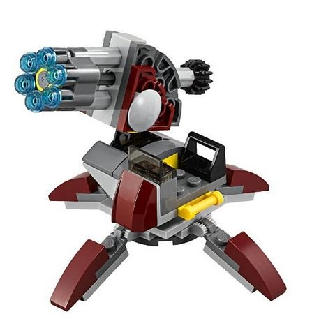 LEGO Star Wars Senate Commando Heavy Artillery Cannon Set of 2 - 1
