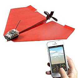 PowerUp 3.0 Smartphone Controlled Paper Airplane from PowerUp