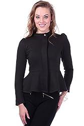 Sassafras Women's Jacket (SFJCKT6007-M _Black_Medium)
