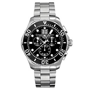 TAG Heuer Men's CAN1010BA0821 Aquaracer Chronograph Watch from TAG Heuer