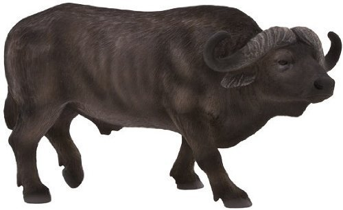 Mojo Fun 387111 African Cape Buffalo - Realistic International Wildlife Toy Replica - New for 1012!