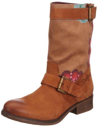 Desigual Womens Sacha Chocolate Biker Boots 38TS604600941 7 UK, 41 EU, 10.5 US, Regular