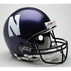 Northwestern Wildcats Authentic Full Size Pro Line Riddell Helmet