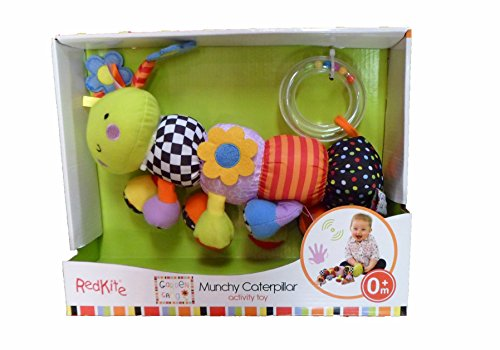 Red Kite Munchy Vibrating Caterpillar Activity Toy Suitable From