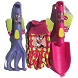 Disney Junior Minnie Mouse & Friends Garden Tools & Glove 4 Piece Set
