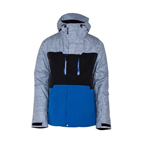armada-ms-ringer-giacca-isolata-da-sci-grigio-nero-blu-royal-xl