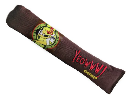 See Yeowww Cigar Catnip Toy, Singles