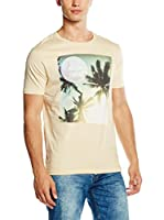 New Caro Camiseta Manga Corta Scott Pollen (Amarillo)