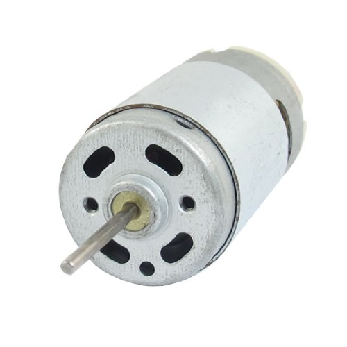 3400Rpm Dc 24V 2.5Mm Shaft Diameter 2 Pin Terminals Electric Motor
