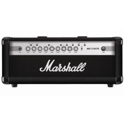 Marshall Mg100Hcfx 100W 4 Channel Carbon Fiber Tolex Amp Head