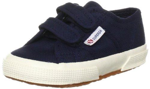 Superga Jvel Classic Sneaker, Bambino, Blu (Navy), 27