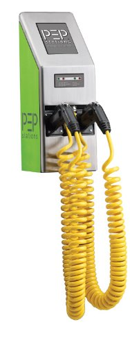 Pep Station Ps1500 Wall Mount- Commercial Level 2 Electric Car Charging Stations