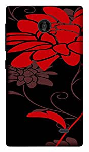 TrilMil Printed Designer Mobile Case Back Cover For Nokia X Plus