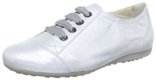 Semler Nele Lace-Ups Women Silver Silber (silber 016) Size: 37.5 UK(41/2)