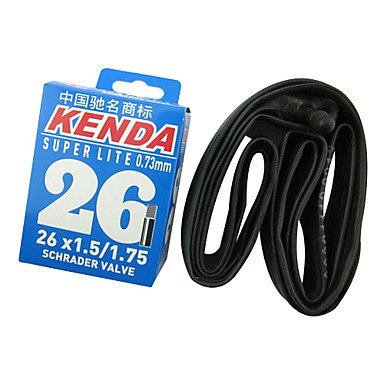 Kenda High-Quality 26*1.5/1.75 Inner Tube For Mountain Cycle Kn-26-1.5(Black)