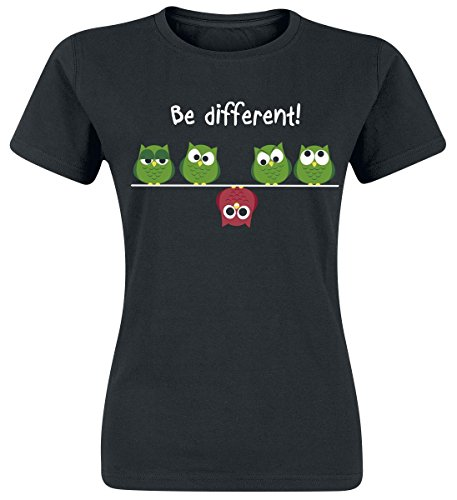 Be Different! Maglia donna nero L