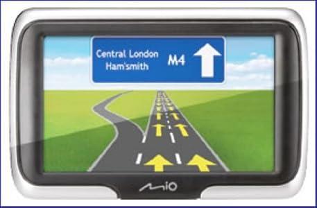 best seller car gps sat nav in uk buying guide of navman mio spirit 470 satellite navigation system. Black Bedroom Furniture Sets. Home Design Ideas