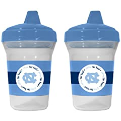 NCAA North Carolina Tar Heels Baby Fanatic Sippy Cup (2-Pack) by BaFanatic